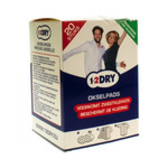 1-2 Dry Okselpads Large P2-Bx-L 20 St